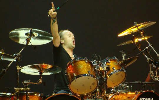 Lars Ulrich Drum Sheet Music