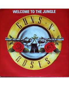 Welcome To The Jungle - Guns n' Roses - Drum Sheet Music