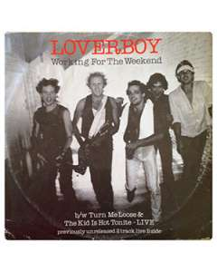 Working For The Weekend - Loverboy - Drum Sheet Music