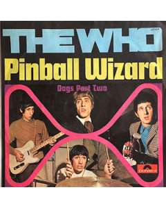 Pinball Wizard - The Who - Drum Sheet Music
