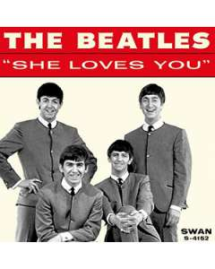 She Loves You - The Beatles - Drum Sheet Music