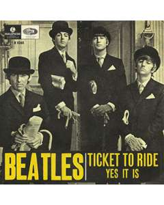 Ticket To Ride - The Beatles - Drum Sheet Music