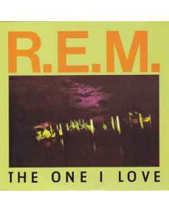 The One I Love - Rem - Drum Sheet Music