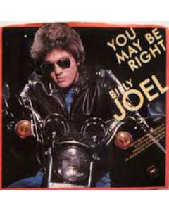 You May Be Right - Billy Joel - Drum Sheet Music