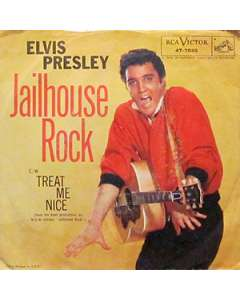 Jailhouse Rock - Elvis Presley - Drum Sheet Music