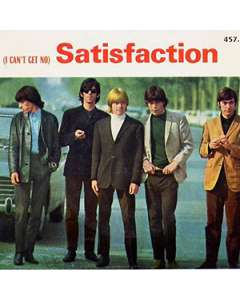 Satisfaction - The Rolling Stones - Drum Sheet Music