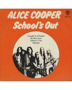 School's Out - Alice Cooper - Drum Sheet Music