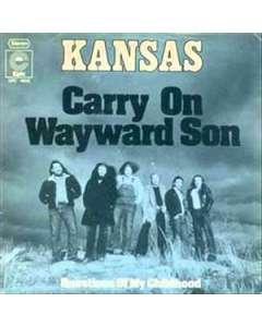 Carry On Wayward Son - Kansas - Drum Sheet Music