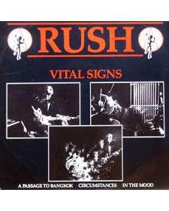 Vital Signs - Rush - Drum Sheet Music