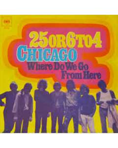 25 or 6 to 4 - Chicago - Drum Sheet Music