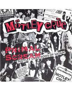 Primal Scream - Motley Crue - Drum Sheet Music