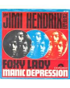 Foxy Lady - Jimi Hendrix - Drum Sheet Music