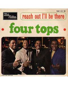 Reach Out I'll Be There - Four Tops - Drum Sheet Music